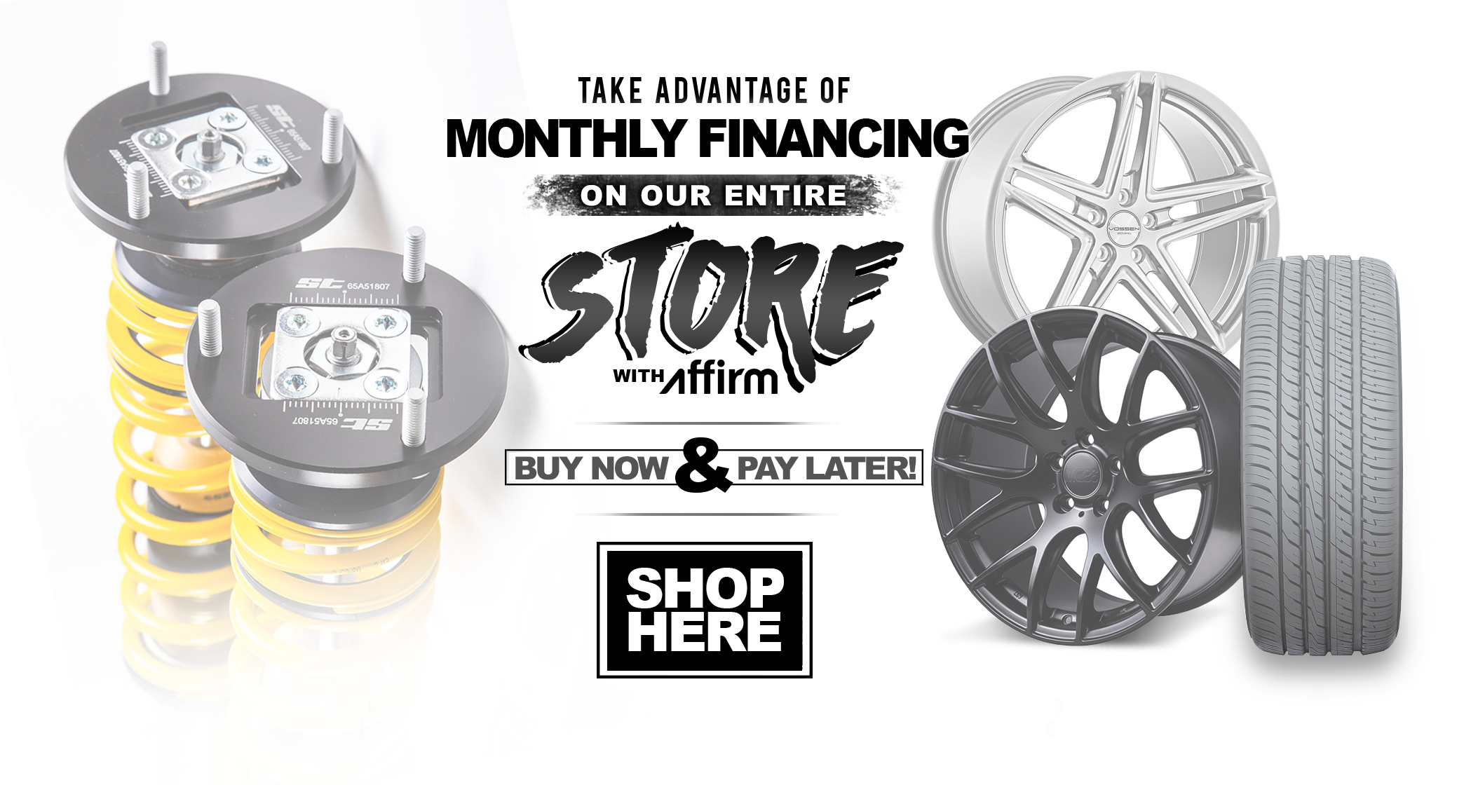 Take advantage of financing as low as 0% APR for those who qualify, ends 7/23