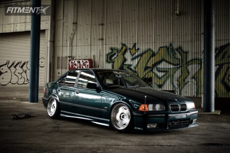 1998 BMW 323i - 17x9.5 25mm - I.force FD-50HD - Coilovers - 225/40R17