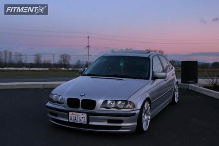 1999 BMW 323i - 18x9 35mm - VMR V710 - Coilovers - 215/35R18