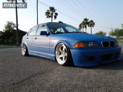 2000 BMW 323i - 18x9.5 22mm - ESM 011 - Coilovers - 215/35R18