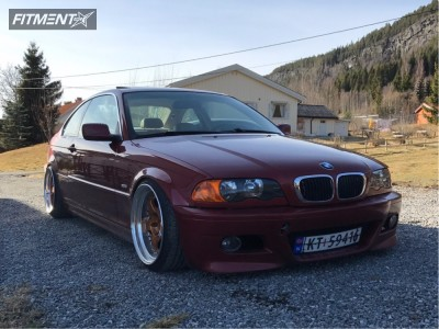 2000 BMW 323Ci - 18x9.5 16mm - Work Meister S1 3P - Coilovers - 215/35R18