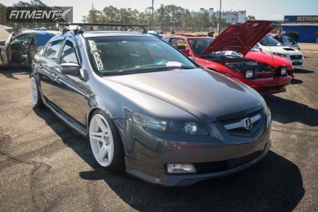 2006 Acura TL - 18x9 26mm - Cosmis Racing S5R - Coilovers - 225/40R18