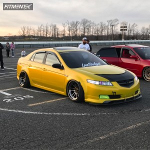 2004 Acura TL - 18x11 8mm - Cosmis Racing XT-206R - Coilovers - 225/35R18