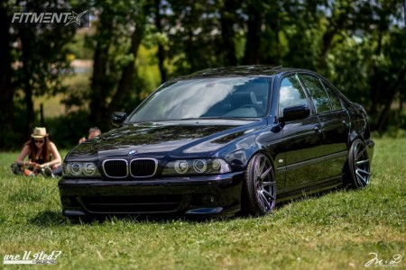 2001 BMW 540i - 19x9.5 35mm - Japan Racing JR11 - Coilovers - 225/35R19
