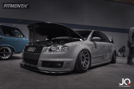 2008 Audi RS4 - 19x11 21mm - Rotiform Ozt - Air Suspension - 255/35R19