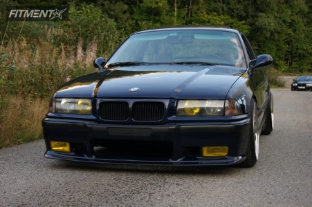 1994 BMW 320i - 17x8 10mm - Artec Other - Coilovers - 205/40R17