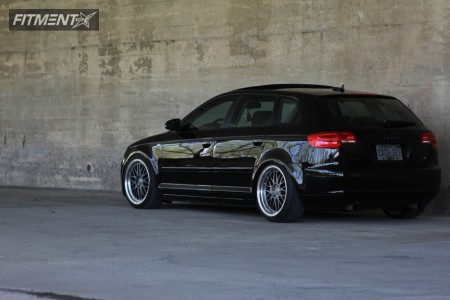 2006 Audi A3 - 18x8 35mm - BBS Lm - Coilovers - 215/35R18
