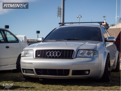 2002 Audi S6 - 19x10 35mm - Rotiform Nue - Coilovers - 235/35R19
