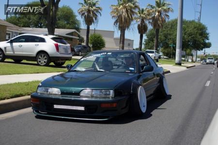1993 Acura Integra - 16x10 -51mm - Diamond Racing  - Coilovers - 205/45R16