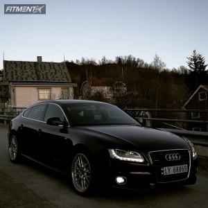 2010 Audi A5 Quattro - 19x9 33mm - BBS  - Stock Suspension - 255/35R19