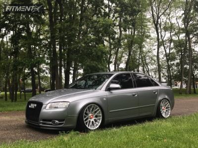 2006 Audi A4 Quattro - 18x9.5 35mm - Rotiform Rse - Coilovers - 225/40R18