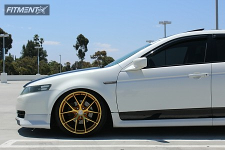 2004 Acura TL - 19x9.5 35mm - Aodhan LS007 - Coilovers - 235/35R19