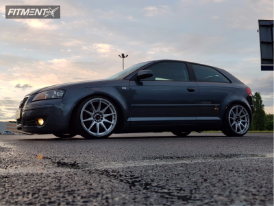 2008 Audi S3 - 18x8.5 35mm - Japan Racing Jr11 - Coilovers - 215/35R18