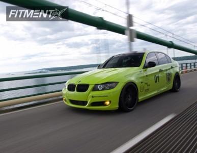 2010 BMW 3 Series - 19x9.5 20mm - Rohana Rc10 - Coilovers - 225/35R19