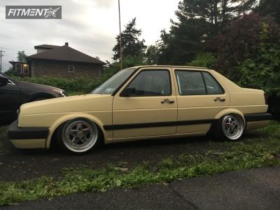 1991 BMW 318i - 16x9 -2mm - AVID1  - Air Suspension - 165/45R16