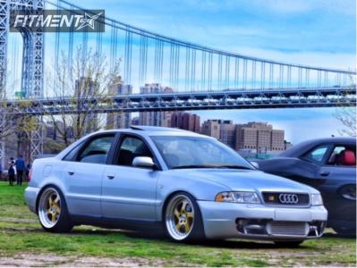 1999 Audi A4 Quattro - 18x8.5 30mm - ESR Sr02 - Coilovers - 215/40R18