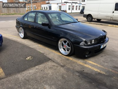 2003 BMW 540i - 19x9.5 -5mm - OZ Racing Mito - Coilovers - 215/35R19