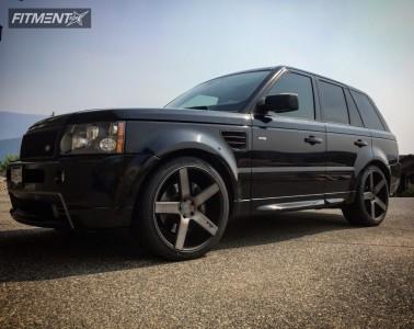 2009 Land Rover Range Rover Sport - 22x10 38mm - Niche Milan - Stock Suspension - 265/35R22