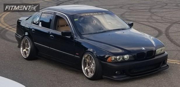 2001 BMW 525i - 19x11 -5mm - Riverside Altstadt - Coilovers - 245/35R19