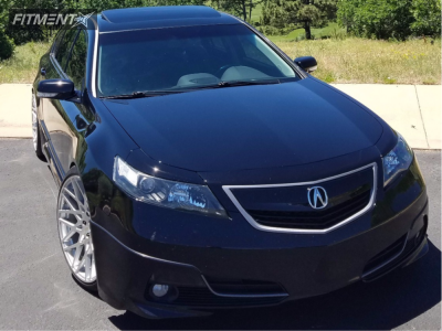 2012 Acura TL - 20x10 25mm - TSW Vale - Coilovers - 245/35R20