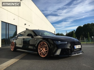 2015 Audi RS7 - 21x10.5 33mm - PG Forged  - Coilovers - 265/30R21