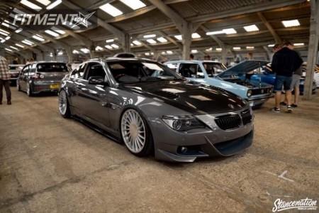 2004 BMW 650i - 20x9 18mm - 3sdm 0.04 - Air Suspension - 225/35R20