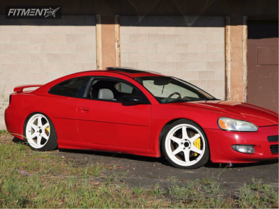 2002 Dodge Stratus - 19x8.5 32mm - Drag Concepts DR35 - Coilovers - 225/35R19