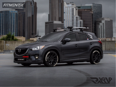 2015 Mazda CX-5 - 19x8.5 40mm - Niche Essen - Lowering Springs - 225/40R19
