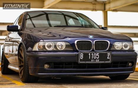 1997 BMW 525i - 18x9.75 20mm - XXR 527 - Lowering Springs - 235/40R18