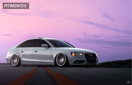 2013 Audi A4 Quattro - 19x10 35mm - Rotiform Ind-t - Air Suspension - 225/35R19