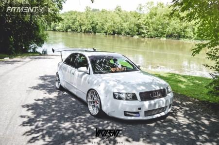 2004 Audi A4 Quattro - 19x10 13mm - Weds Kranze Lxz - Coilovers - 225/35R19