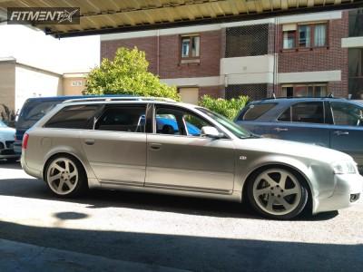 2004 Audi A6 Quattro - 18x8.5 30mm - 3SDM 0.06 - Stock Suspension - 225/45R18