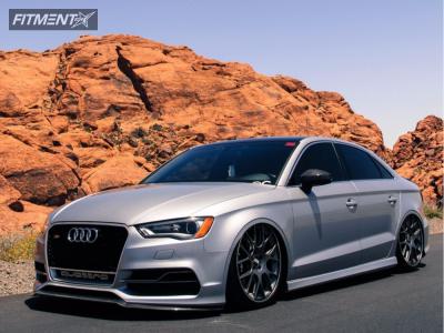 2015 Audi S3 - 20x8.5 42mm - BBS CH-RII - Air Suspension - 245/30R20