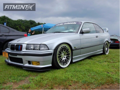 1996 BMW 328is - 19x8.5 35mm - Radi8 R8a10 - Coilovers - 225/35R19