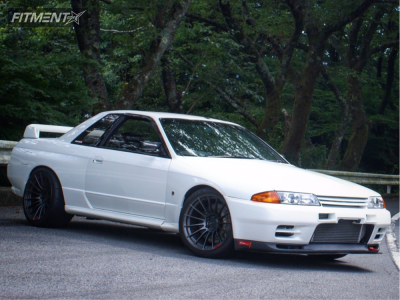 1994 Nissan GT-R - 18x11 15mm - Enkei Rs05-rr - Lowering Springs - 295/30R18