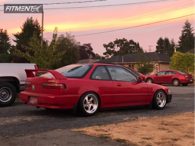 1992 Acura Integra - 15x8.5 18mm - Whistler Kr1 - Coilovers - 195/45R15