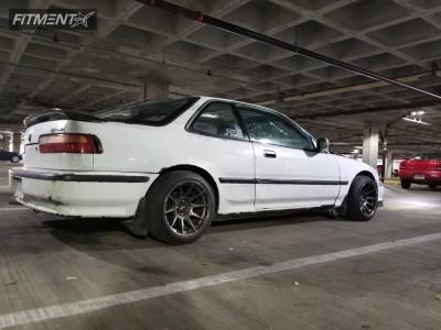 1992 Acura Integra - 15x8.25 0mm - XXR 527 - Coilovers - 195/45R15