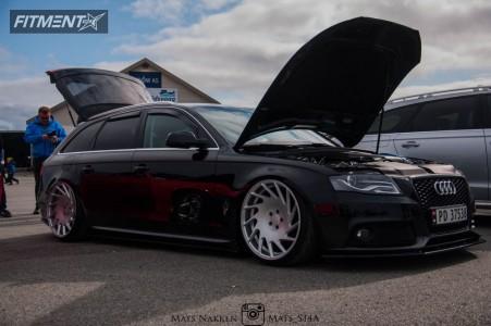 2011 Audi A4 - 20x10.5 30mm - Vossen Vle-1 - Air Suspension - 245/30R20