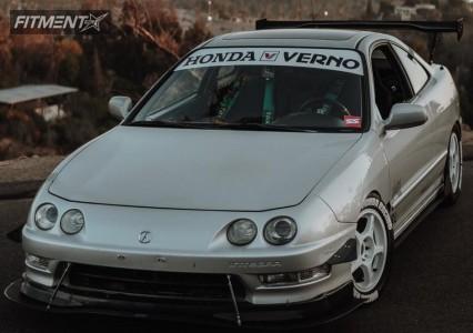 1999 Acura Integra - 15x7 35mm - Enkei Rp02 - Coilovers - 215/50R15
