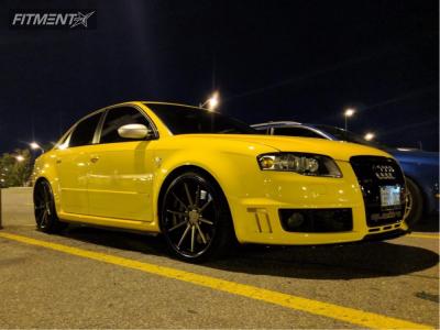 2007 Audi RS4 - 20x9 35mm - Ferrada Fr4 - Coilovers - 245/30R20