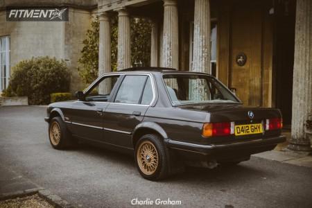 1987 BMW 318i - 15x7 0mm - BBS RZ - Stock Suspension - 195/50R15