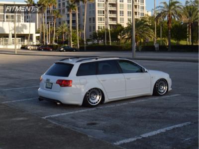 2008 Audi A4 Quattro - 18x8.5 35mm - Rotiform Ccv - Air Suspension - 215/40R18