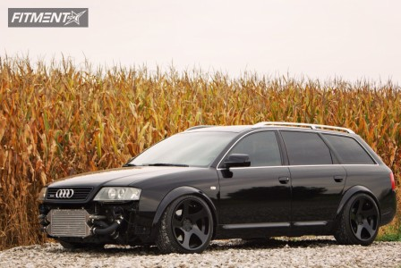 2003 Audi Allroad Quattro - 19x10 25mm - Rotiform Tmb - Air Suspension - 245/40R19