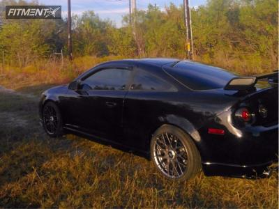 2006 Chevrolet Cobalt - 18x8.5 35mm - Rotiform Rse - Lowering Springs - 255/35R18