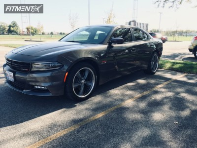 2016 Dodge Charger - 20x8.5 14mm - Boss 338 - Stock Suspension - 245/45R20