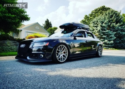2010 Audi A4 - 19x9.5 33mm - VMR V710 - Coilovers - 235/40R19