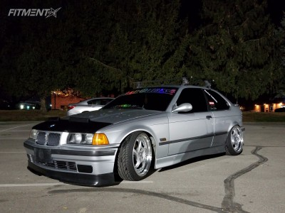 1996 BMW 318ti - 18x8.5 20mm - ESM  - Coilovers - 205/40R18
