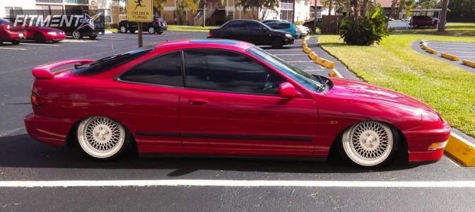 1995 Acura Integra - 15x8 20mm - XXR 536 - Stock Suspension - 195/45R15