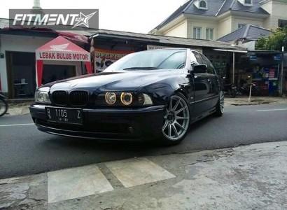 1997 BMW 525i - 18x10 25mm - XXR 527 - Lowering Springs - 235/45R18