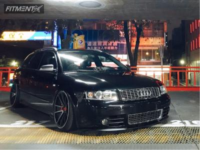2004 Audi A4 - 19x10 35mm - Rotiform Spf - Air Suspension - 235/35R19